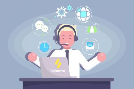 Como entrar em contato com o suporte Binomo